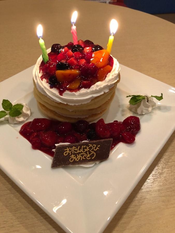 コート・ダジュールのお誕生ケーキ