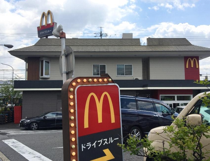 マクドナルド 平手店のドライブスルーが大人気