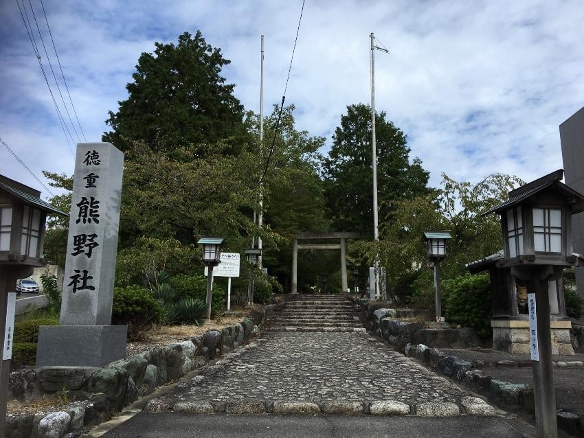 徳重熊野社は、カブトムシの宝庫?!
